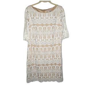 NWT Dress Barn Lace Sleeve Dress